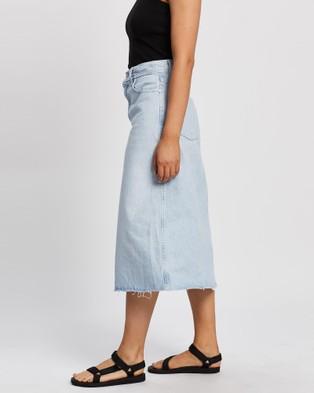 Nobody Denim Whisper Skirt - Denim skirts (Whispered)
