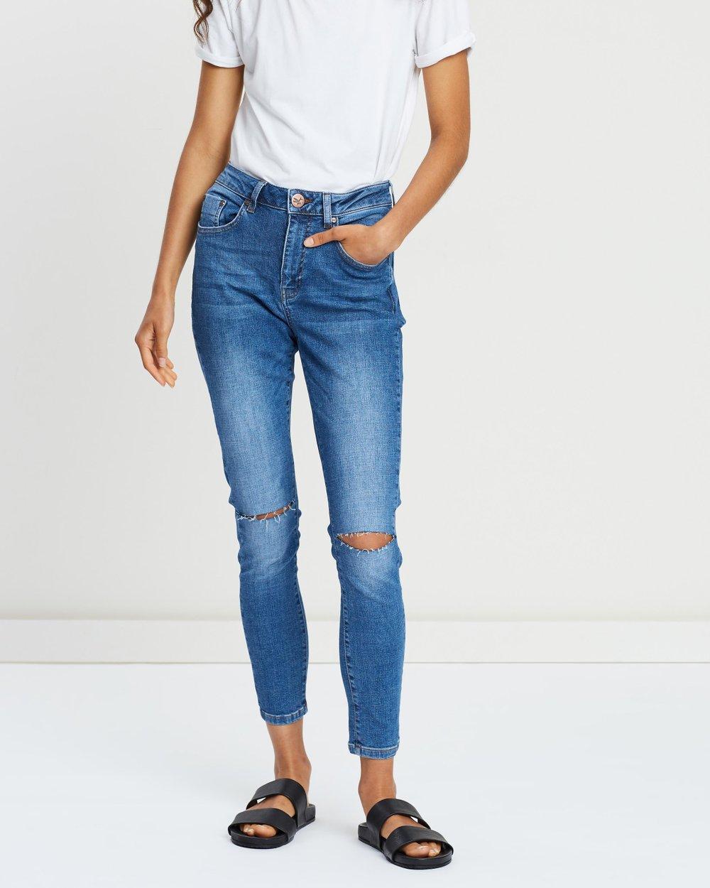 de2882d96 Freebirds II High-Waist Skinny Jeans by ONETEASPOON Online   THE ICONIC    Australia