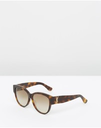 Saint Laurent - SL M3 Cat Eye Sunglasses