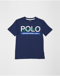 Polo Ralph Lauren - Basic Jersey SS T-Shirt - Teens