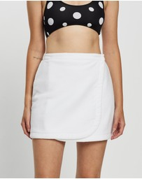 Endless - Vacay Terry Toweling Wrap Skirt