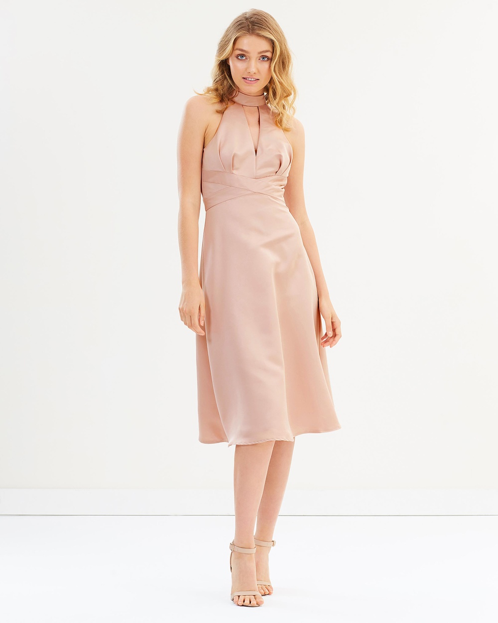 Chi Chi London Khadi Dress Bridesmaid Dresses Pink Khadi Dress