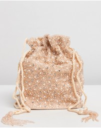 From St Xavier - Mini Pearl Drawstring Bag