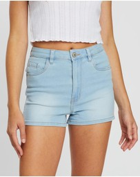 Supre - Sky High Denim Shorts