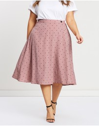 Atmos&Here Curvy - ICONIC EXCLUSIVE - Natasha Midi Skirt