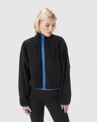 Cools Club Polar Fleece Jacket - Sweats (Black)