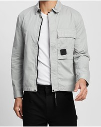 C.P. Company - Velcro Patch Overshirt
