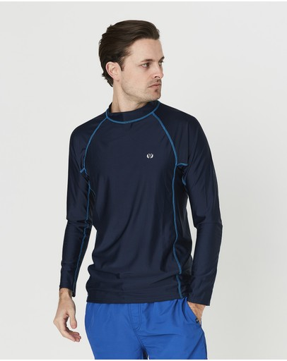 Coast Clothing - Mens Long Sleeve Rash Top