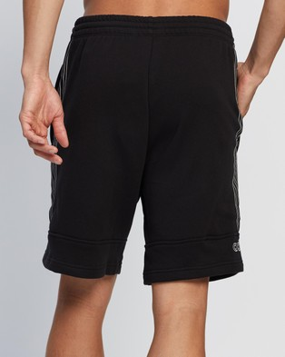 adidas Originals Sport Sweat Shorts Black & Chalk White