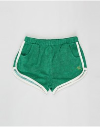 Rock Your Kid - ICONIC EXCLUSIVE - Retro Terry Towelling Shorts - Kids-Teens