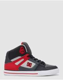 DC Shoes - Mens Pure Hi Top Shoe's