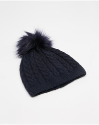 Decjuba Kids - Lynn Single Pom Beanie - Teens