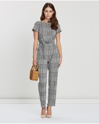 Dorothy Perkins - Check Denver Jumpsuit