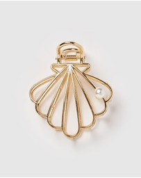 Izoa - Sea Shell Hair Clip