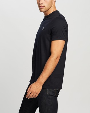 Fred Perry Ringer T Shirt - T-Shirts & Singlets (608 Navy)