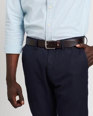 Tommy Hilfiger New Denton Belt - Belts (Brown)