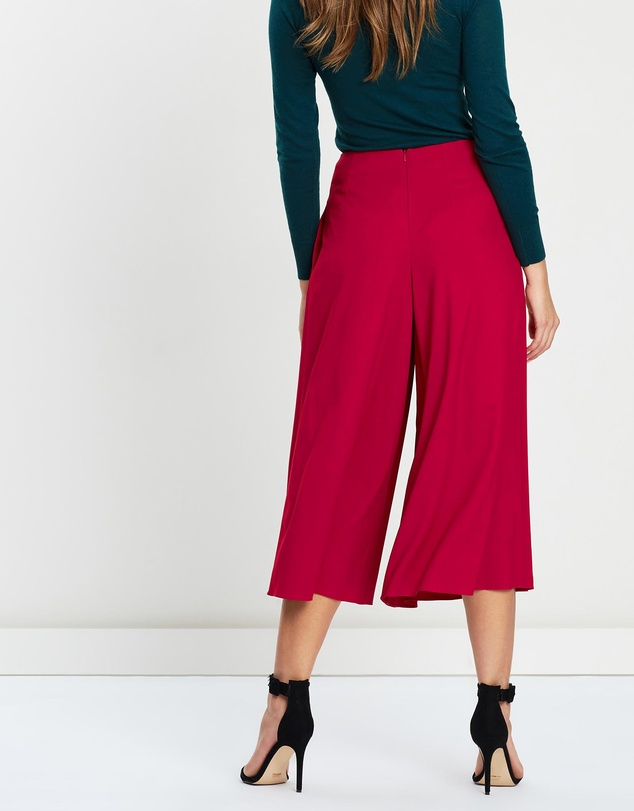 Karen Millen - Pleated Wide-Leg Trousers