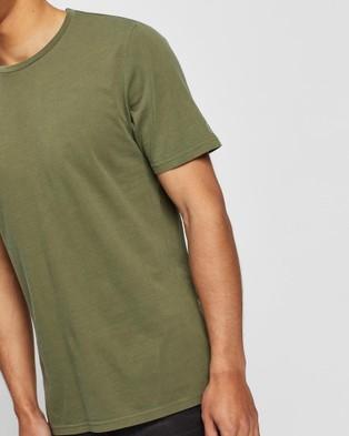 Volcom Wash Solid Short Sleeve Tee - T-Shirts & Singlets (Green)
