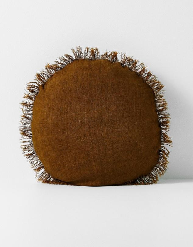 Life Linen Fringe 45cm Round