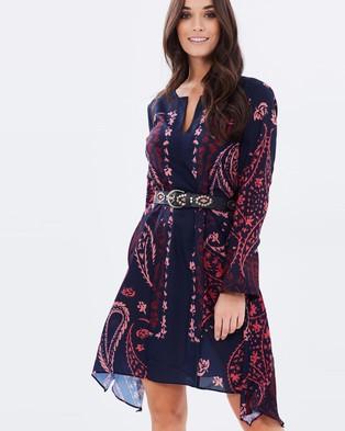 Wite – Gypsy Dress Ink Navy