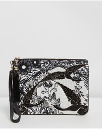 Camilla - Zip Top Clutch