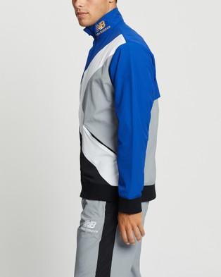 New Balance Kl2 Warmup Jacket - Coats & Jackets (Team Royal)