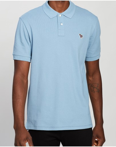 Ps By Paul Smith Regular Fit Ss Polo Shirt Blue