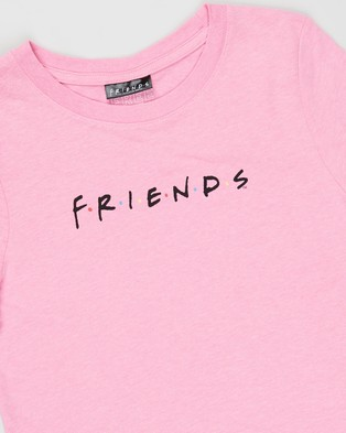 Free by Cotton On Girls Licence Classic SS Tee   Teens - Clothing (Licence Pink Punch & Friends Logo)