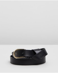 M.N.G - Buckle Leather Belt