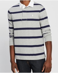 Polo Ralph Lauren - Custom Slim Fit Long Sleeve Knit Polo