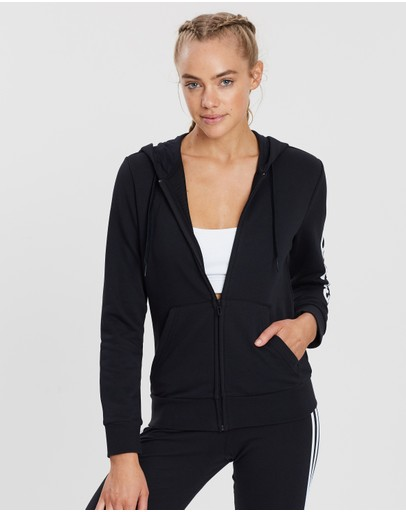 adidas Performance - Essentials Linear Full-Zip Hoodie