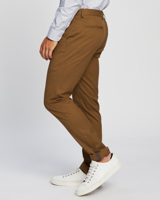 Ben Sherman Skinny Stretch Chinos - Pants (Tan)