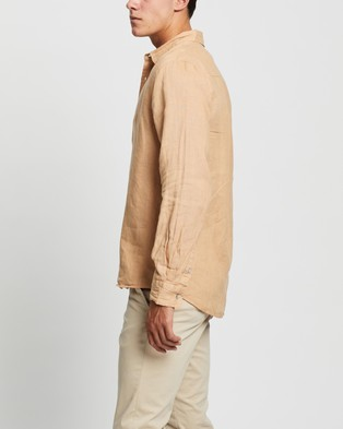 Assembly Label Casual Long Sleeve Shirt shirts Taupe