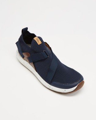 Freewaters Freeland TRVL - Slip-On Sneakers (Navy)