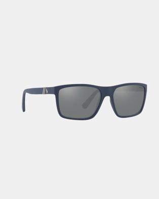 Polo Ralph Lauren Polo Ralph Lauren PH4133 - Sunglasses (Mirror Silver Lens)