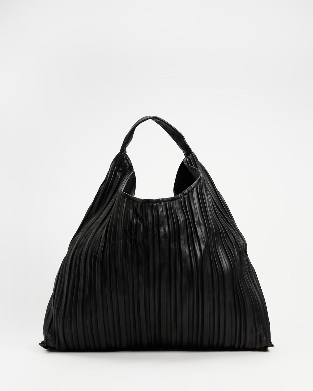 M.N.G Deri Slouch Bag Handbags Black