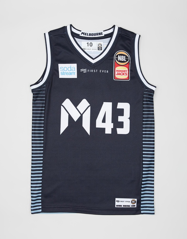 First Ever Kids - Melbourne United Youth Authentic Jersey - Chris Goulding - Kids-Teen