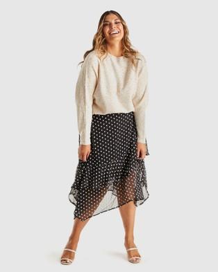 Estelle Sadie Knit - Jumpers & Cardigans (Cream)