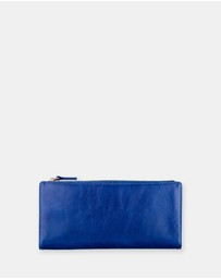 Status Anxiety - Dakota - Royal Blue Wallet