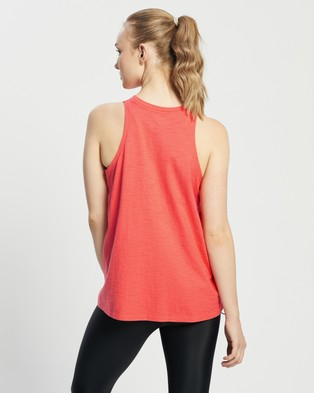 Under Armour - Ua Charged Cotton Adjustable Tank - Muscle Tops (Red) Ua Charged Cotton Adjustable Tank