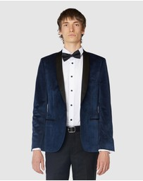 Jack London - Navy Velvet Tuxedo Jacket