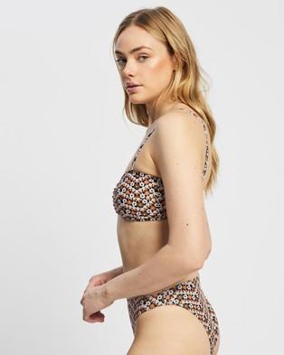 Faithfull The Brand Blair Top Bikini Tops Vanja Floral Print