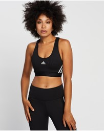 adidas Performance - Believe This 3-Stripes Medium Support Rib Bra