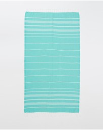 Miz Casa and Co - French Riviera Mint Turkish Towel