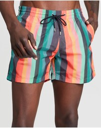PS by Paul Smith - Artist Stripe Shorts