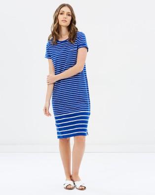Buy Sportscraft - Tanya Stripe Dress blue -  shop Sportscraft dresses online
