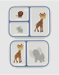Bobbleart - Bento Box Pack Safari
