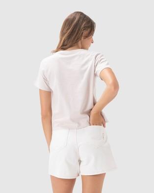 Cools Club Club Real Tee - T-Shirts & Singlets (Natural)