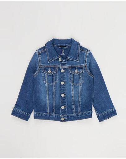 babyGap - Icon Denim Jacket with Fantastiflex - Babies-Kids