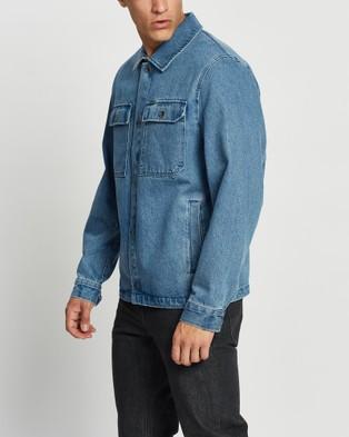Volcom - Likeaton Jacket - Denim jacket (Blue) Likeaton Jacket